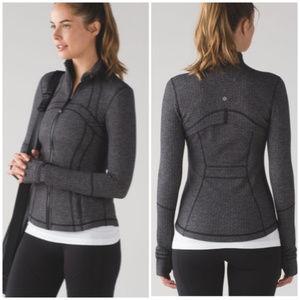 LULULEMON Define Jacket heather black herringbone